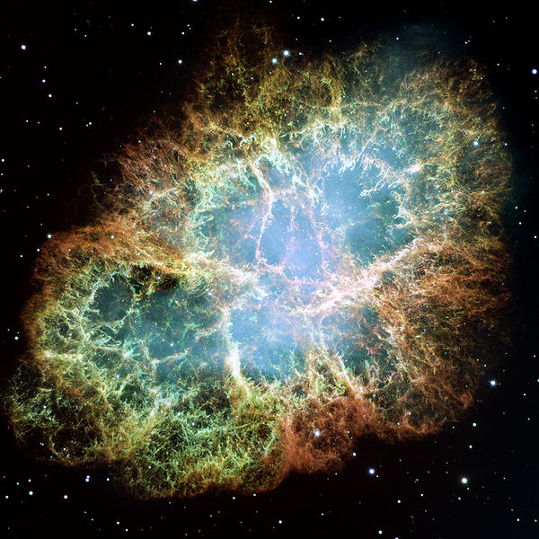 Crab Nebula - photo: NASA