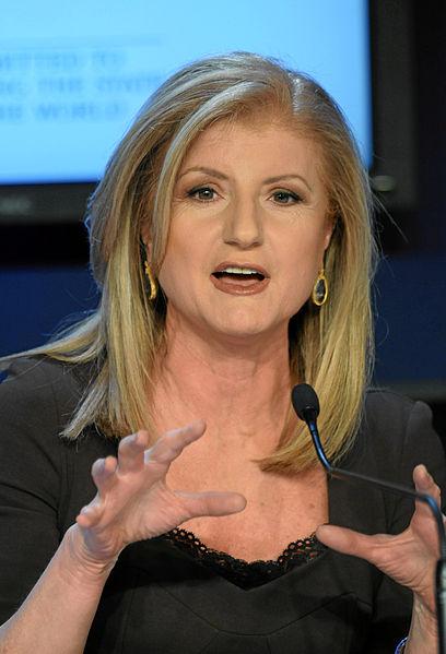 Arianna Huffington - Photo: World Economic Forum/wiki commons