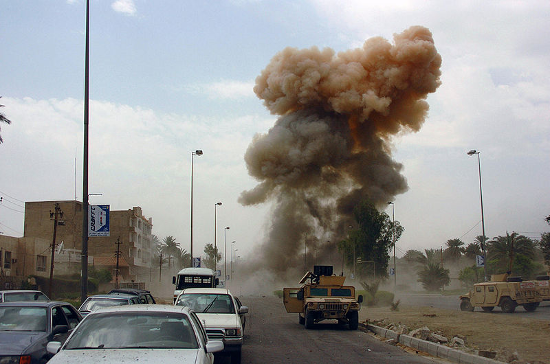 bombing in iraq