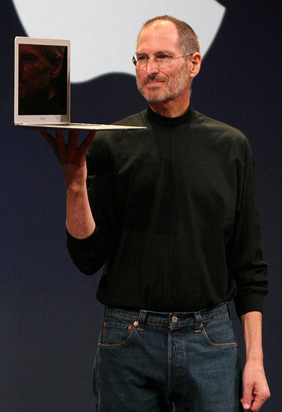 Steve Jobs - phto: wiki commons