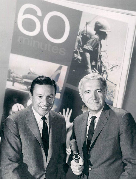 mike wallace and harry reasoner - 1968 - photo:  wiki commons